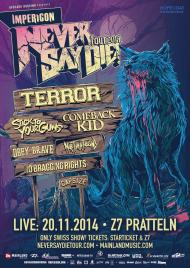 Impericon Never Say Die 2014