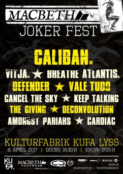 Macbeth Joker Fest (Caliban, Vitja, Breathe Atlantis)