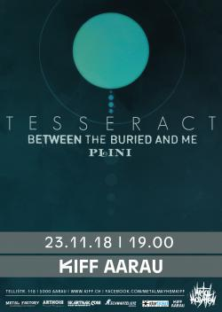 TesseracT, Between the Buried and Me